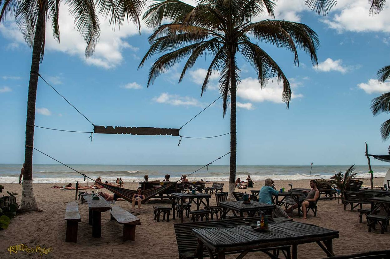 Imágenes: Palomino, la playa donde se unen el río y el mar